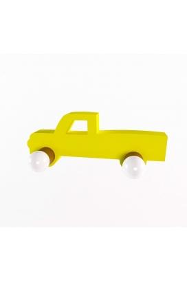 Odun Concept Montessori Araba Ahşap Duvar Rafı