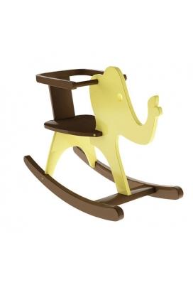 Odun Concept Montessori Sallanan Fil Sarı Ahşap Oyuncak