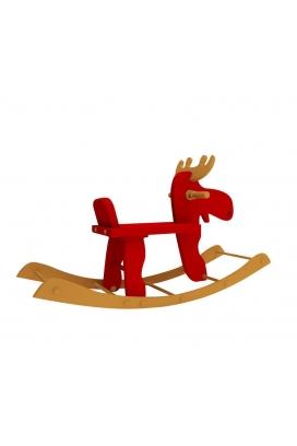 Odun Concept Montessori Sallanan Geyik Ahşap Oyuncak