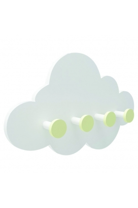 Odun Concept Montessori Bulut Ahşap Duvar Rafı