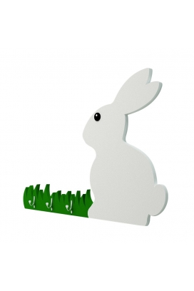 Odun Concept Montessori Rabbit Ahşap Duvar Rafı