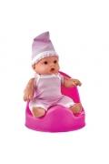Şimşek Oyuncak Oturaklı İki Parça Et Miniş  Bebek